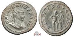 Ancient Coins - Gallienus Antoninianus - VIRTVS AVGVSTI - Hercules - Goel 1616e - Antioch mint