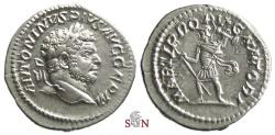 Ancient Coins - Caracalla Denarius - MARTI PROPVGNATORI - RIC 307