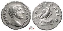 Ancient Coins - Divus Antoninus Pius Denarius - CONSECRATIO - RIC 431
