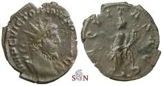 Ancient Coins - Victorinus Antoninianus - AEQVITAS AVG - Rare obverse legend
