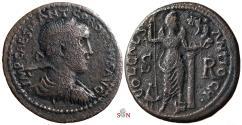 Ancient Coins - Gordianus III. AE 34 mm - Pisidia, Antioch - Mên standing facing - BMC 68