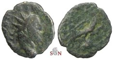 Ancient Coins - Divus Victorinus Antoninianus - Eagle on globe - Elmer 785 - Rare
