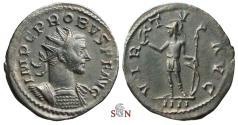 Ancient Coins - Probus Antoninianus - VIRTVS AVG / IIII - RIC 114 - Lugdunum mint