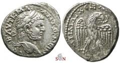 Ancient Coins - Caracalla AR Drachm - SYRIA, Seleucis & Pieria, Antioch mint - Prieur 241