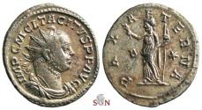 Ancient Coins - Tacitus Antoninianus - PAX AETERNA - RIC 34