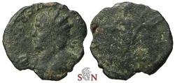Ancient Coins - Victorinus Antoninianus - SALVS AVG - very rare left facing bust - Elmer 735