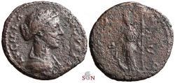 Ancient Coins - Lucilla AE As - IVNO REGINA - RIC 1752