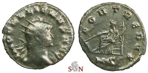 Ancient Coins - Gallienus Antoninianus - FORT REDVX - Milan mint - Göbl 1350