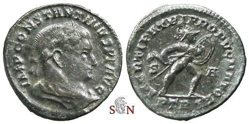 Ancient Coins - Constantinus I. Follis - MARTI PATRI PROPVGNATORI - RIC - Rare