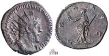 Ancient Coins - Victorinus Antoninianus - PIAVVONIVS - Very Rare first emission with Marius bust - AGK 12a