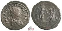 Ancient Coins - Aurelianus Antoninianus - very rare bust type - IOVI CONSER - Serdica mint