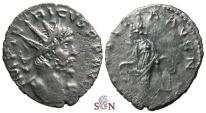 Ancient Coins - South Petherton Hoard (UK) - Tetricus I. Antoninianus - LAETITIA AVG N - Elmer 786