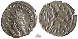 Ancient Coins - Laelianus Antoninianus - VICTORIA AVG - Elmer 625