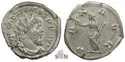 Ancient Coins - Postumus Antoninianus - PAX AVG - Elmer 567