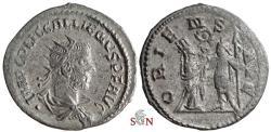 Ancient Coins - Gallienus Antoninianus - ORIENS AVG - Samosata mint - Goebl 1698 b