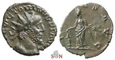 Ancient Coins - Pamphill Hoard (UK) - Victorinus Antoninianus - PIETAS AVG - AGK 18a