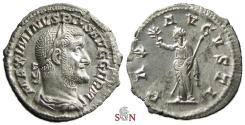 Ancient Coins - Maximinus I Thrax Denarius - PAX AVGVSTI - RIC 19