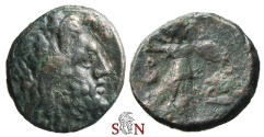 Ancient Coins - Kings of Macedon - Philip V AE 15 mm - Zeus / Athena