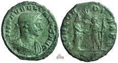 Ancient Coins - Aurelianus AE As - CONCORDIA AVG - RIC 80