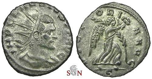 Ancient Coins - Claudius II Gothicus Antoninianus - VICTORIA AVG - RIC 171