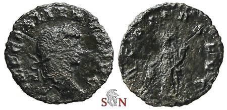 Ancient Coins - Gallienus Denarius - VBERITAS AVG - Goebl 664 t - Rare