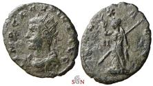 Ancient Coins - Claudius II, Gothicus Antoninianus - PAX AVG / II - possibly unique