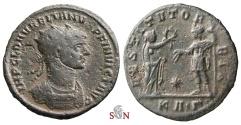 Ancient Coins - Aurelianus Antoninianus - IMP C L D AVRELIANVS P F INVICT AVG - extremely rare