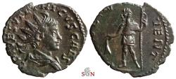 Ancient Coins - Tetricus II. Antoninianus - PRINC IVVENT - Elmer 781