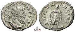 Ancient Coins - Postumus Antoninianus - SALVS EXERCITI - Elmer 418