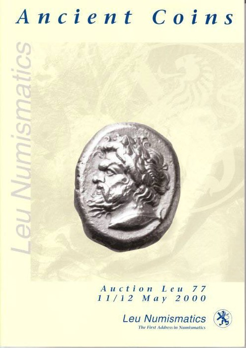 Ancient Coins - LEU Numismatics - Auction 77 - Ancient Coins - 11 - 12 May 2000