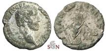 Ancient Coins - Antoninus Pius Fouée Denarius - TRANQVILLITAS - rare