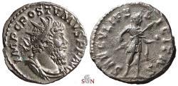 Ancient Coins - Postumus Antoninianus - SAECVLI FELICITAS - Elmer 593 - nice portrait