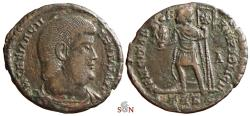Ancient Coins - Magnentius Centenionalis - FELICITAS REIPVBLICE / TRS - ex Grohs-Fligely collection 1875-1962
