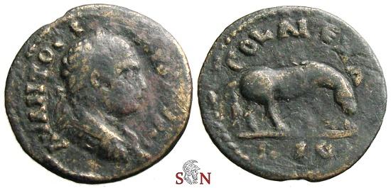Ancient Coins - Elagabalus AE 24 mm - Alexadria - Troas - SNG Cop 203