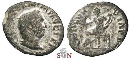 Ancient Coins - Vitellius Denarius - CONCORDIA P R - RIC 90