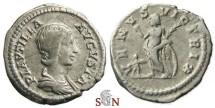 Ancient Coins - Plautilla Denarius - VENVS VICTRIX - RIC 369