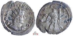 Ancient Coins - Gallienus Antoninianus - VIRTVS AVGG - RIC 58
