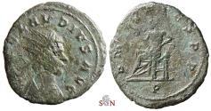 Ancient Coins - Claudius II. Gothicus Antoninianus -  P M TR P COS P P -  Apollo - Ex Ph. Gysen collection