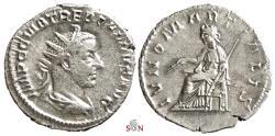 Ancient Coins - Trebonianus Gallus Antoninianus - IVNO MARTIALIS - RIC 83 - Antioch mint