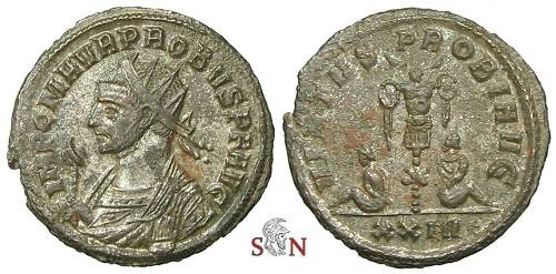 Ancient Coins - Probus Antoninianus - Trophy between two captives - RIC 822