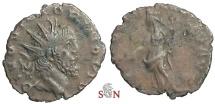 Ancient Coins - Divus Victorinus Antoninianus - PROVIDENTIA AVG - RIC 88