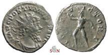 Ancient Coins - Pamphill Hoard (UK) - Postumus Antoninianus - IOVI VICTORI - AGK 39