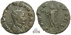Ancient Coins - Claudius II Gothicus Antoninianus - IOVI VICTORI - RIC 54