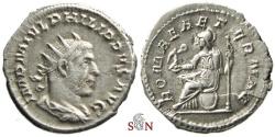 Ancient Coins - Philippus I Arabs Antoninianus - ROMAE AETERNAE - RIC 44b