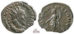 Ancient Coins - Pamphill Hoard (UK) - Victorinus Antoninianus - PROVIDENTIA AVG - AGK 19