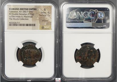 Ancient Coins - Carausius Antoninianus - CARAVSIVS ET FRATRES SVI - RIC 1