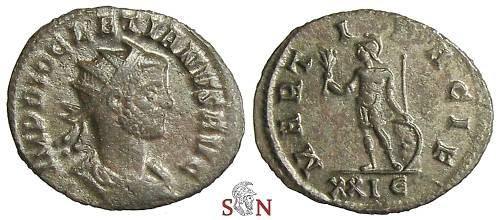 Ancient Coins - Diocletianus Antoninianus - MARTI PACIF - RIC 173