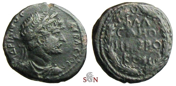 Ancient Coins - Hadrianus AE 19 mm - Samosata, Commagene, Syria