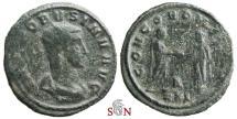 Probus Antoninianus - CONCORD MILIT - Very Rare INV obv. legend