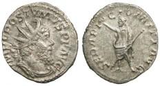 Ancient Coins - Postumus Antoninianus - Serapis standing left - Elmer 383